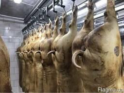 Мясо свинина полутуши, обвал