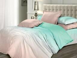 Мятный кварц, постельное белье сатин люкс качество
