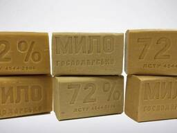 Мыло хозяйственное 72% 200 г ДСТУ 4544:2006