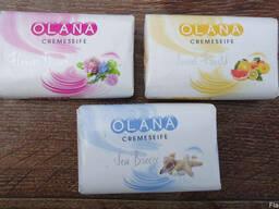 """Мыло """"Olana cremeseife"""" 150 грам."""