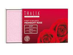 Мило Thalia Midnight Rose Натуральне з рожевою водою, 150 г