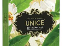 Мило Unice Tea tree Oil Натуральне з маслом чайного дерева Unice , 100 г