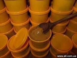 Мёд с маточным молочком 2 %, пыльцой, прополисом, апибальзам