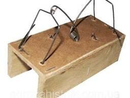 Мышеловка деревяная домик (1 шт)