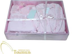 Набір халат і рушники Soft Cotton Inci, рожевий Код: 4387
