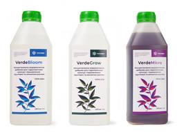 Набір концентрованих водорозчинних добрив для гідропонічних культур і підживлення рослин
