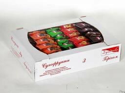 """Набір (мікс 4) глазурованих цукерок """"Сухофрукти з горіхом"""""""
