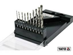 """Набір свердл по металу YATO 1. 5-6 мм HEX-1/4"""" HSS 6542 для нержавіючої конструктивної. .."""