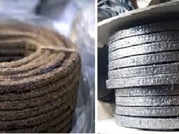 Набивки сальниковые жировые, асбест, графит (от 300руб)