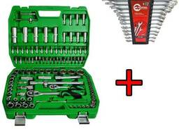 Набор 108пр. и набор ключей 12пр. Intertool ET-6108SP HT-120