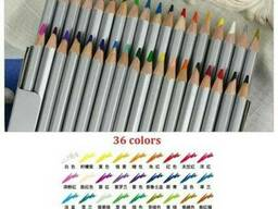 Набор цветных карандашей Raffine 36 цветов - фото 2