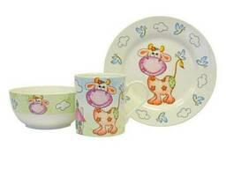 Набор детской посуды Коровка Keramia 21-272-042