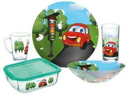 Набор детской посуды Luminarc Vroom P7868 5 предметов