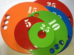 Набор дисков (блинов) для штанги 1, 25-2, 5-5-10-15-20-25 кг (160 кг)