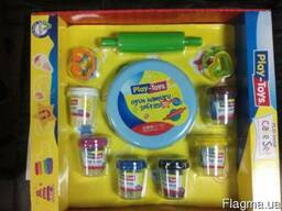 Набор для лепки (тесто) Play Toys Cake Set (РТ 42263),