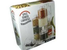 Набор для специй Spice Tower 6 шт, , Емкости для специй ,