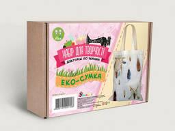 Набор для творчества. Декупаж по ткани Эко-сумка-ловец...