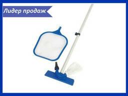 Набор для уборки и чистки бассейнов Bestway и Intex (6 шт. ..