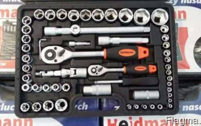 Набор головок ключей инструментов 108 шт. heidmann