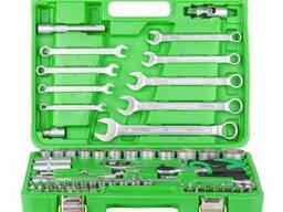 "Набір інструментів 1/2"" і 1/4"", 82 од, Intertool ET-6082SP"