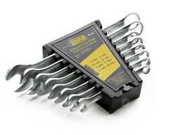 Набор ключей рожково-накидных CrV 6-22мм (12 шт. ) | СИЛА. ..