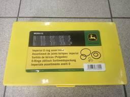 Набор колец уплотнительных дюймовые (32 размера, 407 шт)