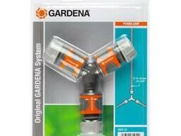 Набор коннекторов с тройником Gardena 18287-20