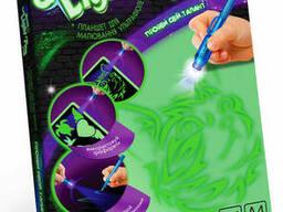 "Набор креативного творчества Danko Toys ""Neon Light Pen"". .."