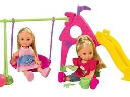 Набор кукла Эви и подружка на детской площадке Evi Love. ..