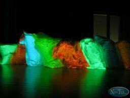 Набор. Люминесцентный пигмент ТАТ 33, три цвета по 50 грамм.