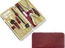 Набор маникюрно-педикюрный Niegelon 07-0713, 8 предметов. ..