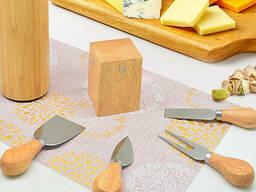 Набор ножей для сыра с подставкой Dynasty 14 х 6 см