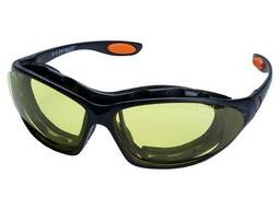 Набор очки защитные с обтюратором и сменными дужками Super Zoom anti-scratch, anti-fog. ..