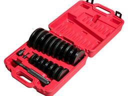 Набор оправок для выпрессовки подшипников, втулок, сальников 70-155мм (шаг 5мм) (4855 JTC)