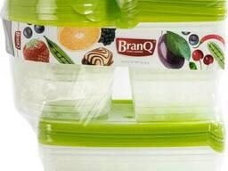Набор пищевых емкостей для хранения BranQ Rukkola 17 шт