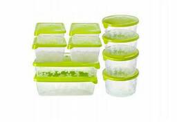 Набор пищевых емкостей для хранения и заморозки BranQ. ..
