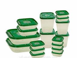 Набор пищевых контейнеров 17 шт.