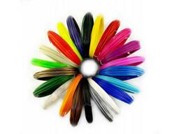Набор пластика для 3D ручки ABS 60 метров (6 цветов). ..