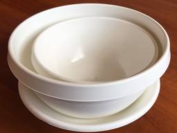 Набор посуды из пластика - фото 1