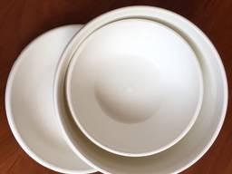 Набор посуды из пластика - фото 3