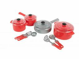 """Набор посуды """"Кристинка"""" 526OR (Красный)"""