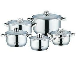 Набор посуды Maestro 4 кастрюли + ковш