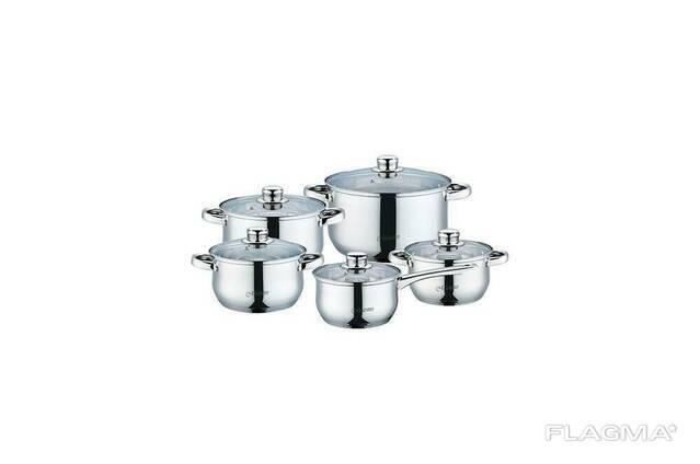 Набор посуды нержавеющий Maestro - 1,5 x 2 x 3 x 5 x 1,5. ..