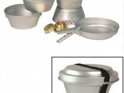 Набор посуды туристический Mil-Tec Cook-Set алюминий