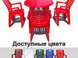 """Набор садовой мебели Стол """"Круг"""" и 4 стула """"Рэкс"""", Алеана - фото 2"""