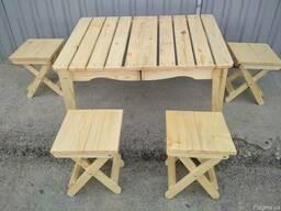 Набор складной мебели для природы «Пикник» 505х725х210 мм - фото 2