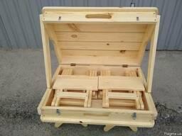 Набор складной мебели для природы «Пикник» 505х725х210 мм - фото 4