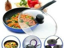 Набор сковородок с антипригарным покрытием Spider Pan (Спайд