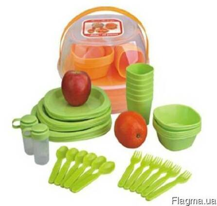 Набор туристической посуды BitaPicnic Set (48 предметов)