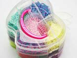 Наборы 3 яруса Яблоко (2100 шт), наборы для плетения, станки д - photo 1